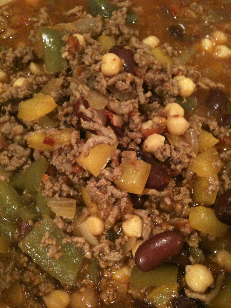 Chilli con carne – My way