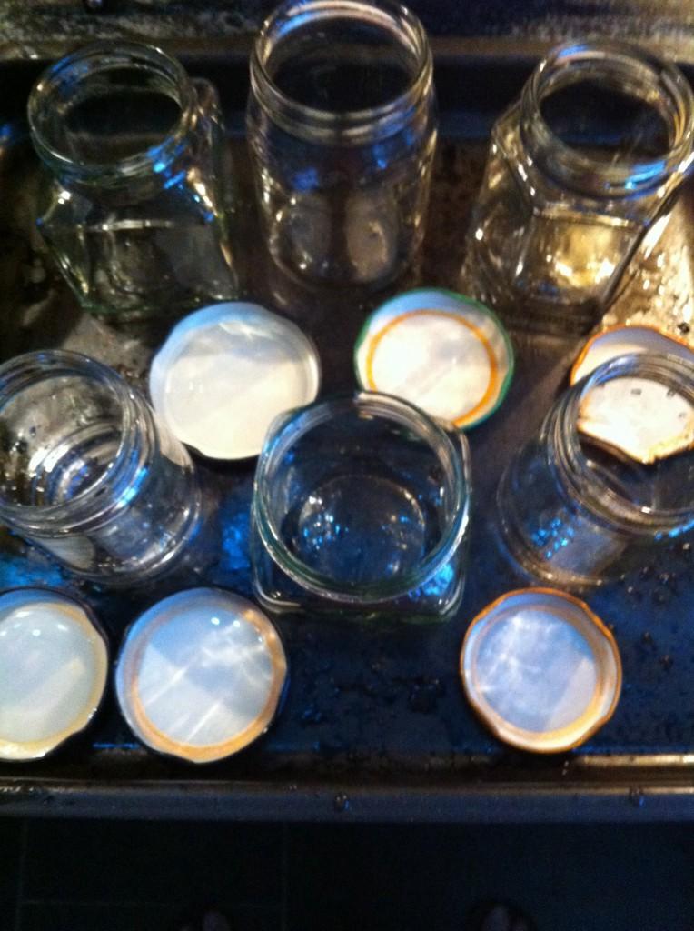 Sterilising Jars