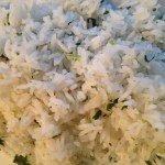 lime and coriander rice